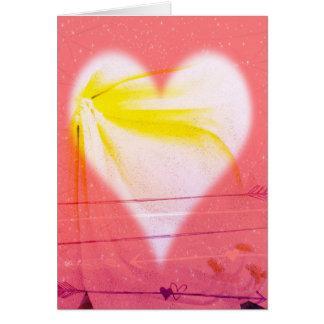 Amor dado alas… tarjeta de felicitación