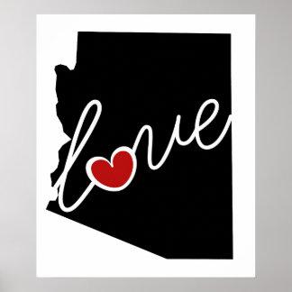 ¡Amor de Arizona!  Regalos para los amantes de AZ Impresiones