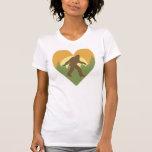 Amor de Bigfoot Camisetas
