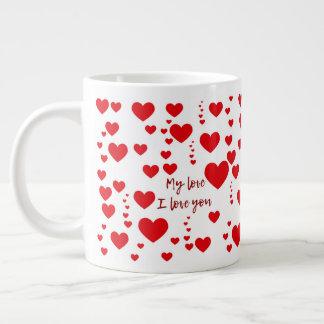 Amor de Caneca Taza De Café Grande