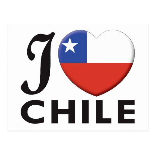 Amor de Chile Tarjeta Postal