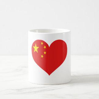 Amor de China Taza De Café