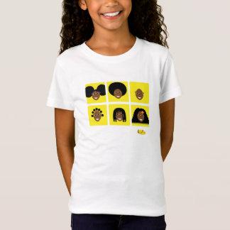 Amor de Fino I mi amarillo de la camiseta del pelo