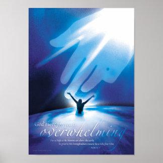 AMOR DE FORMA APLASTANTE - posters religiosos