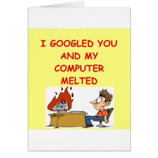 amor de google tarjeta de felicitación
