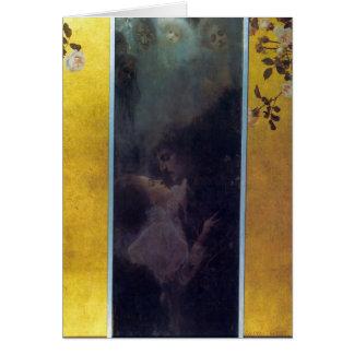 Amor de Gustavo Klimt Tarjeta