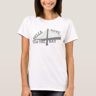 Amor de Hella para la camiseta de la bahía