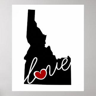 ¡Amor de Idaho!  Regalos para los amantes de la Impresiones