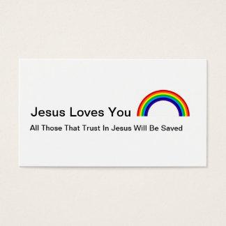 Amor de Jesús Tarjeta De Negocios