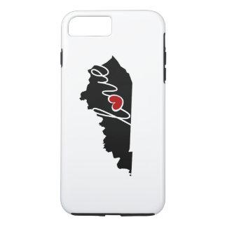 ¡Amor de Kentucky! Regalos para los amantes de KY Funda iPhone 7 Plus