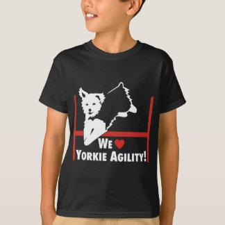 Amor de la agilidad de Yorkie Camiseta