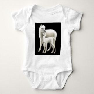 Amor de la alpaca body para bebé