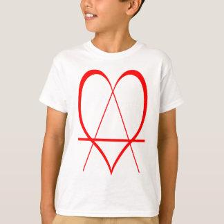 Amor de la anarquía camiseta