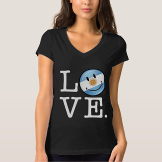 Amor de la Argentina Camiseta