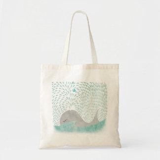 Amor de la ballena bolsa de mano