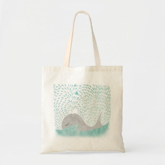 Amor de la ballena bolsa tela barata