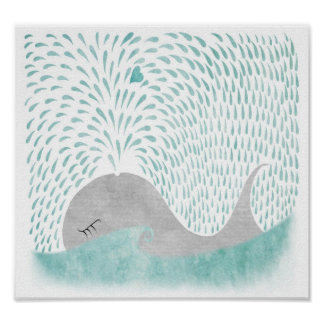 Amor de la ballena póster