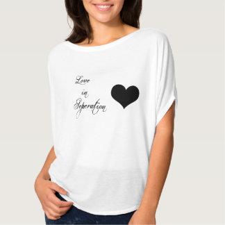 Amor de la camiseta de los pares del el día de San