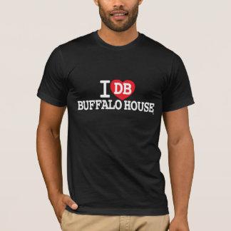 amor de la casa del búfalo camiseta