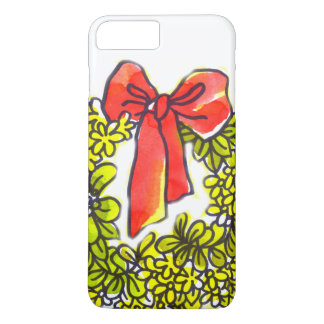 amor de la decoración del navidad blanco e IPHONE Funda iPhone 7 Plus