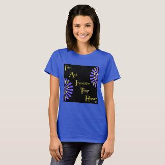 Amor de la esperanza de la fe camiseta