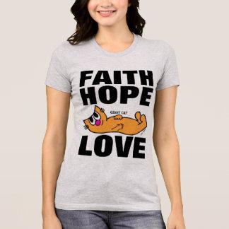 AMOR de la ESPERANZA de la FE, camisetas del CAT