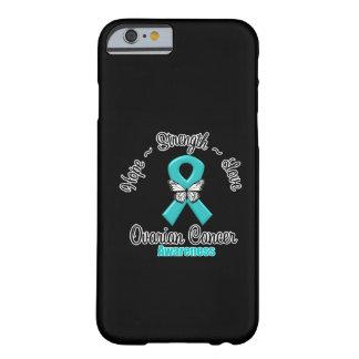 Amor de la fuerza de la esperanza del cáncer funda para iPhone 6 barely there