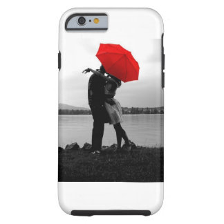 Amor de la lluvia funda de iPhone 6 tough