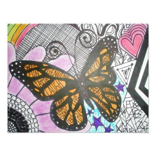 Amor de la mariposa anuncios personalizados