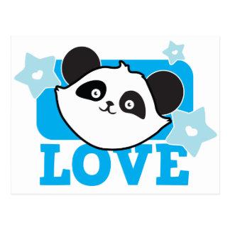 Amor de la panda postal