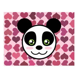 """""""Amor de la panda """" Tarjetas Postales"""