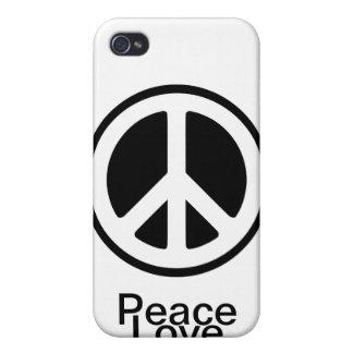 Amor de la paz:) iPhone 4/4S carcasas