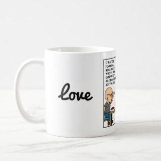 Amor de la radiología taza de café