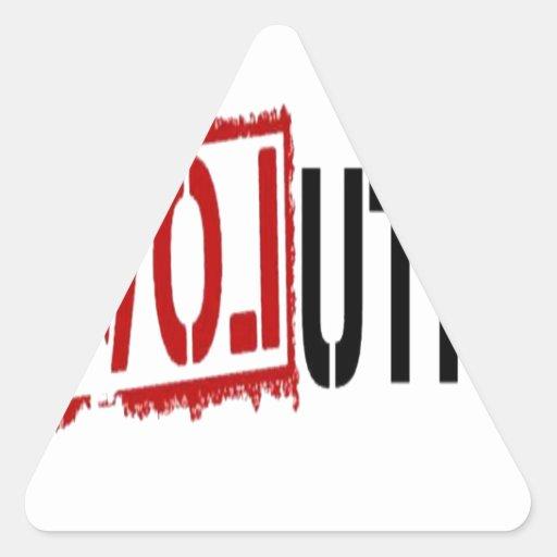 Amor de la revolución colcomanias trianguladas personalizadas