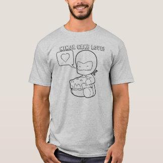 Amor de la torta de Ninja Camiseta