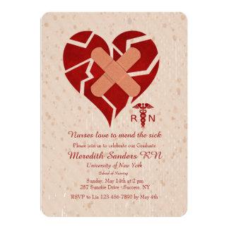 Amor de las enfermeras para reparar la invitación