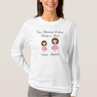 Amor de las razones I que es un pelo de Mamá-Brown Camiseta