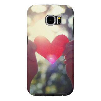amor de los galaxys 6 de Samsung del cace Funda Samsung Galaxy S6