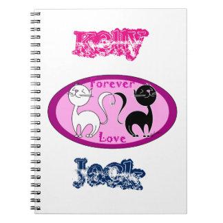 Amor de los gatos cuaderno