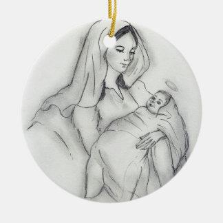 Amor de madres ornamento de reyes magos