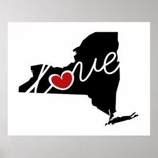 ¡Amor de Nueva York!  Regalos para los amantes de Poster