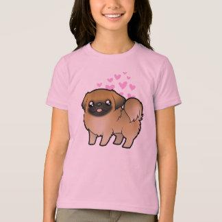 Amor de Pekingese (perrito cortado) Camiseta