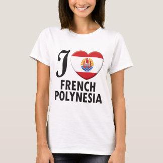 Amor de Polinesia francesa Camiseta