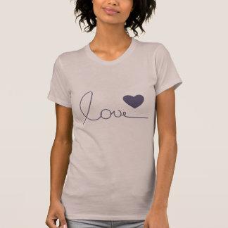 Amor de Purple Heart Camiseta