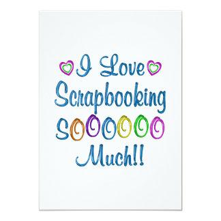 Amor de Scrapbooking tanto Invitacion Personalizada