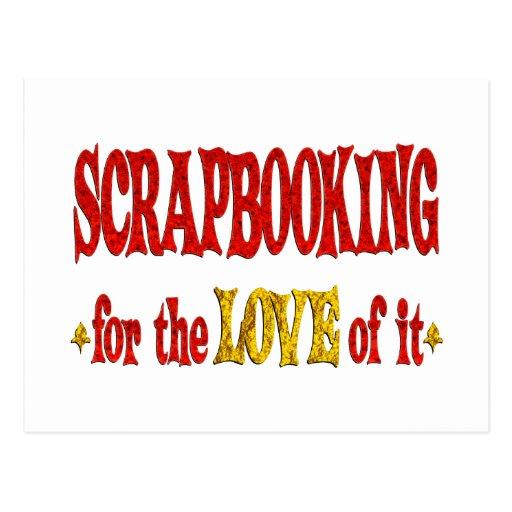 Amor de Scrapbooking Postal