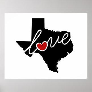 ¡Amor de Tejas!  Regalos para los amantes de TX Impresiones