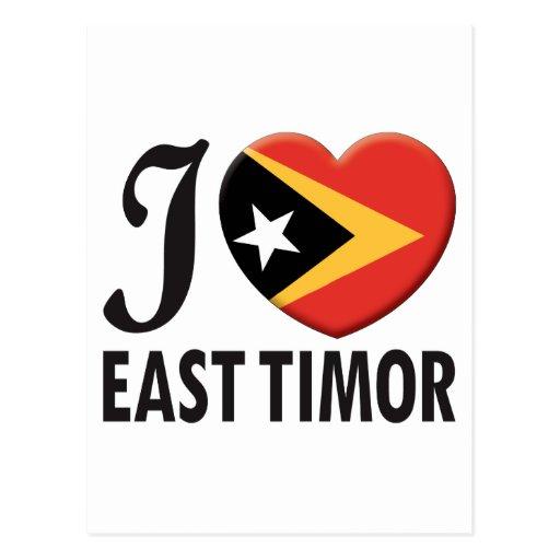 Amor de Timor Oriental Postales