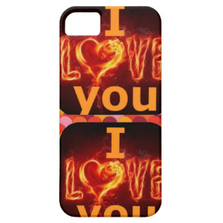 amor de usted iPhone 5 funda