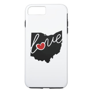 ¡Amor de Utah! Regalos para los amantes de UT Funda iPhone 7 Plus